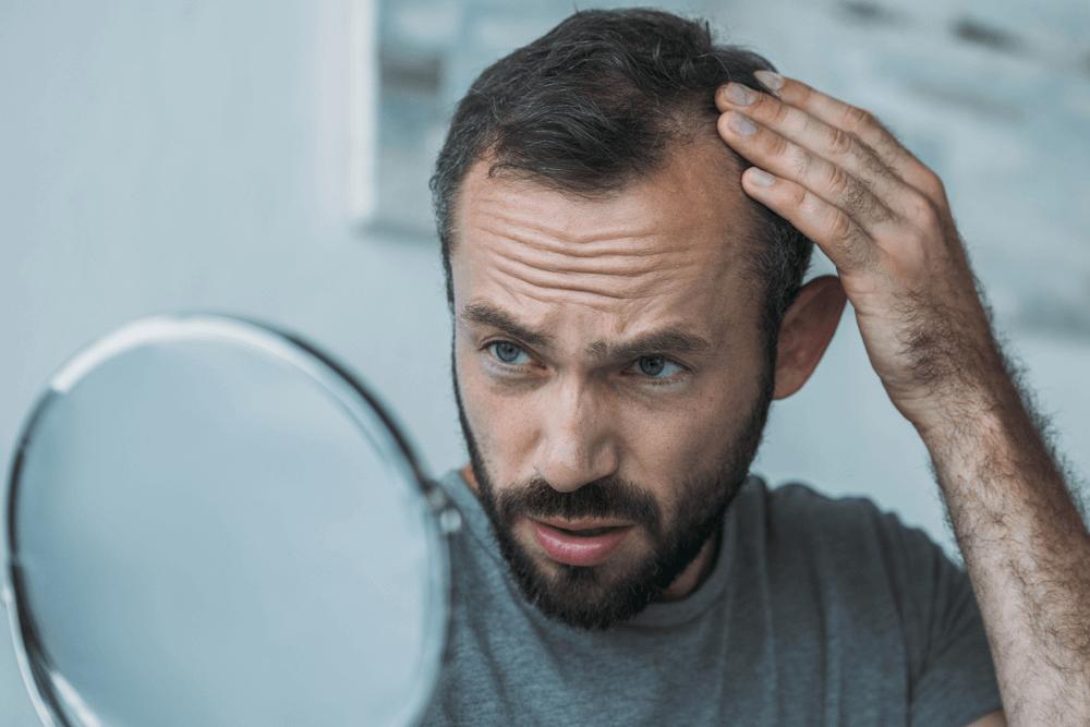 vitaminas para queda de cabelo